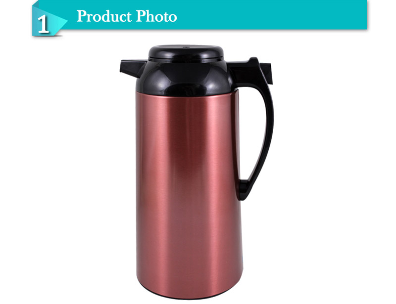 The Most Unique Design Glass Inner Vacuum Coffee Jug Thermos Flask