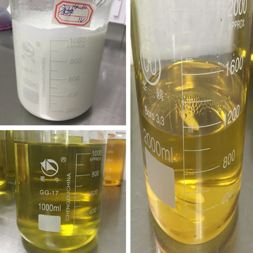 Yellow Injectable Liquid Trenabolic Trenbolone Acetate(Finaplix) 75/100 mg/Ml with Safe Ship Juaner
