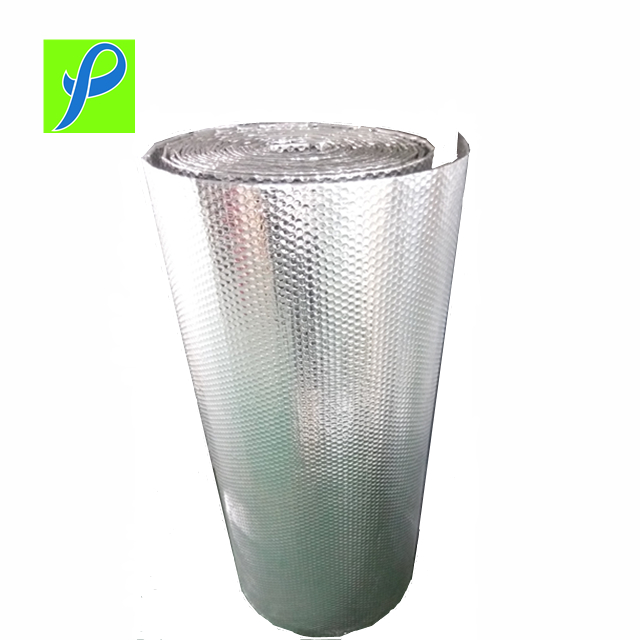 Metallic Bubble Material Thermal Insulation Packaging Home Wrap