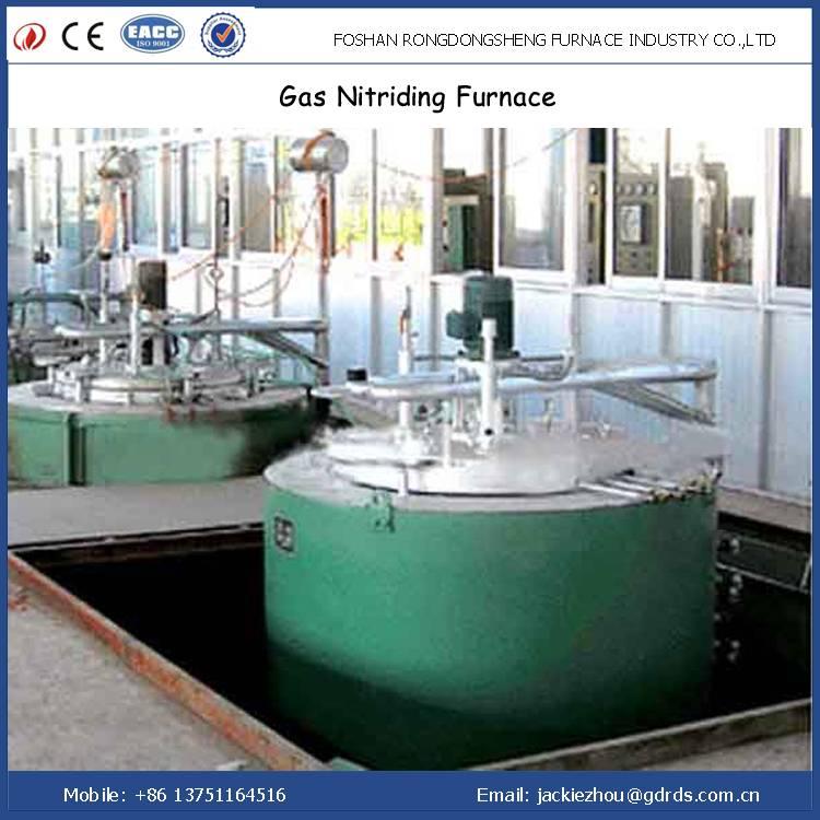 Pit type aluminium dies gas nitriding furnace