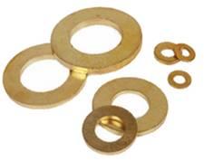 Brass Machined Washers