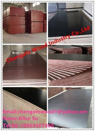 (Cheap Price, Good Quality) film faced plywood