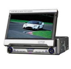 "7"" Automatical In Dash LCD Monitor TV USB Built-in DVD Player"
