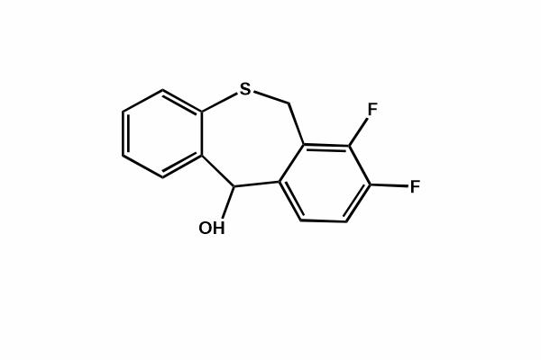 7,8-Difluoro-6,11-dihydrodibenzo[b,e]thiepin-11-ol