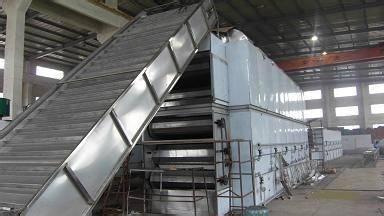 DWC Series Mult- layer Penetrating Mesh-Belt Dryer