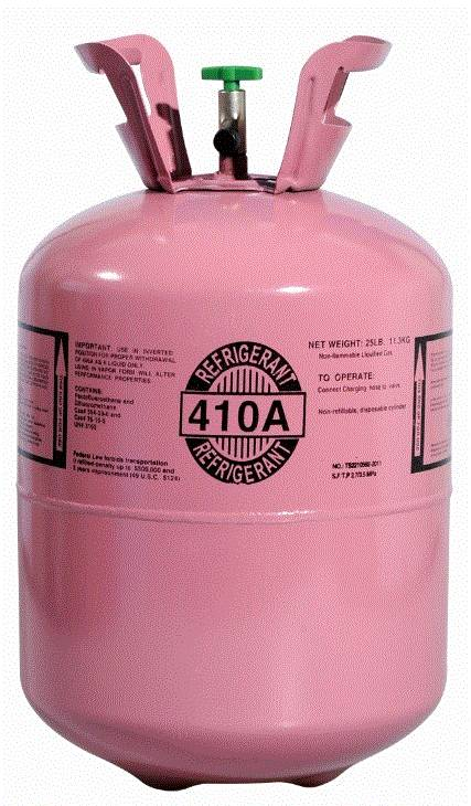 R410A Refrigerant Gas with High Purity 99.9%