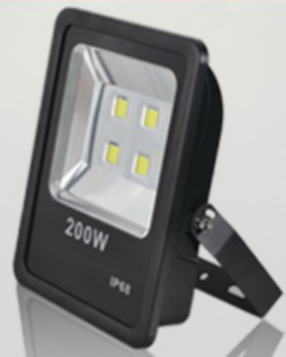 LED FLOOD LIGHT 200W HUDGE OUTDOOR WATERPROOF IP66 BUILDING STREET LANSCAPE USED 85-265V SAVING LAMP