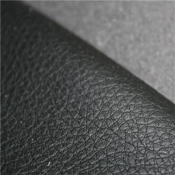lichee pattern pu leather for sofa upholstery