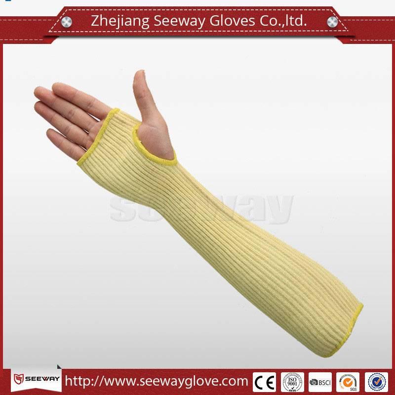 SeeWay SA01-45 Heat Resistant Aramid welding sleeve with thumb holes