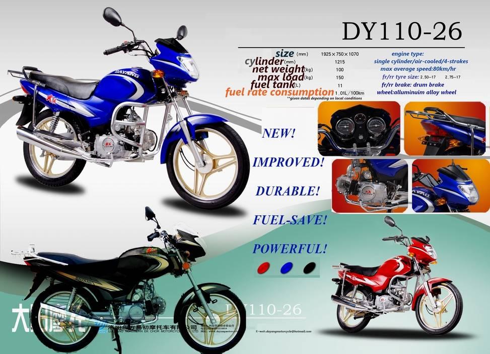 DAYANG New Standard motorcycle (90/110/125)