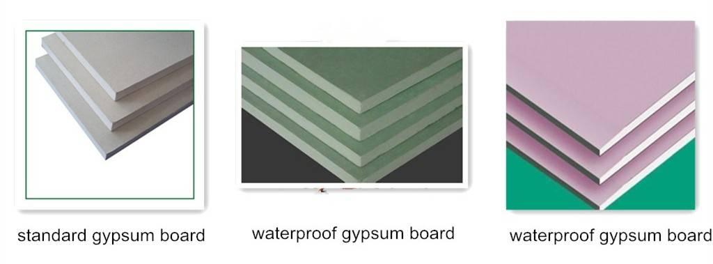 drywall  gypsum board