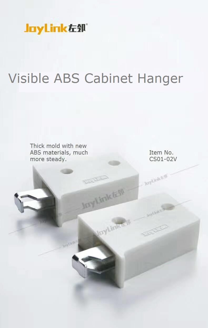 Visible ABS Cabinet Hanger (CS01-02V)