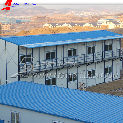 Prefabricated House Construction Site Camping House