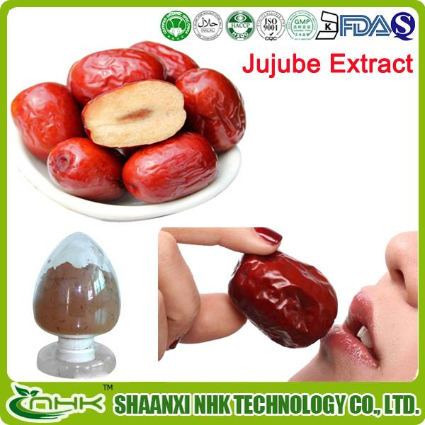 Factory price 100% Natural Zizyphus jujube extract