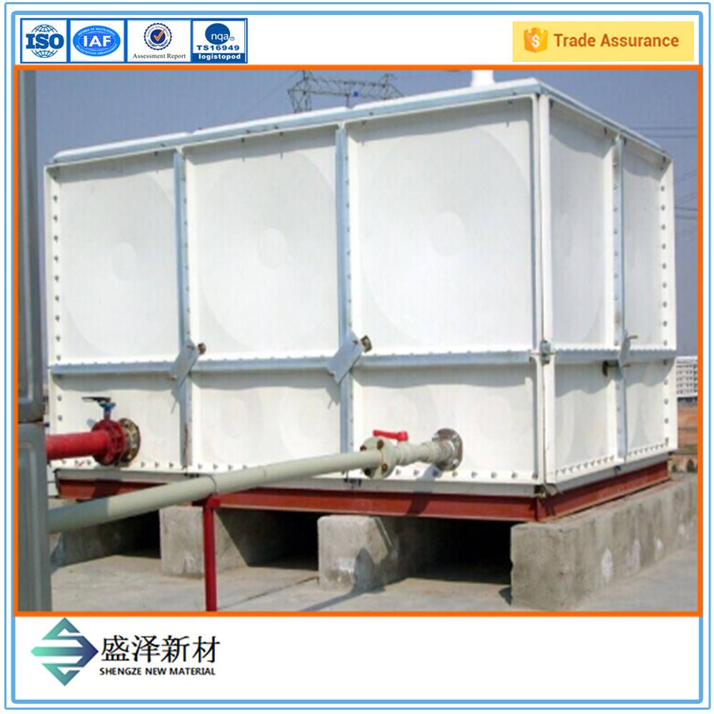 Direct factory supply anti-corrosion no seepage fiberglass water tank