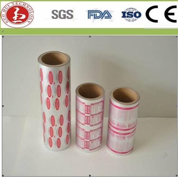 0.018-0.03 Thickness Pharmaceutical Packaging Aluminum Blister Foil