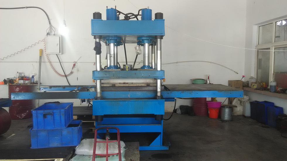 Rubber Floor Tiles Making Machine