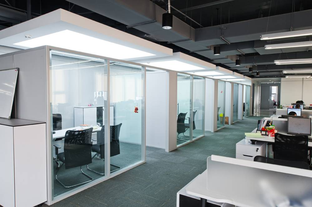 Denna office single glazed partition wall for conference , hall, banquet and school