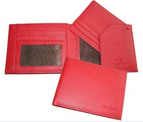 Hot Selling High Quality Leather Wallet Women with Card Holder