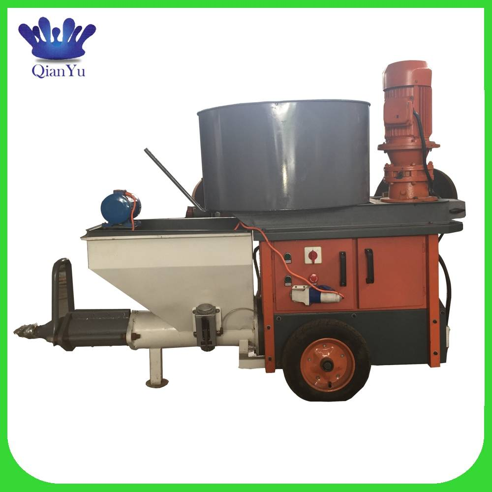 QY-850 hot new products cement mortar spray machine wall plaster
