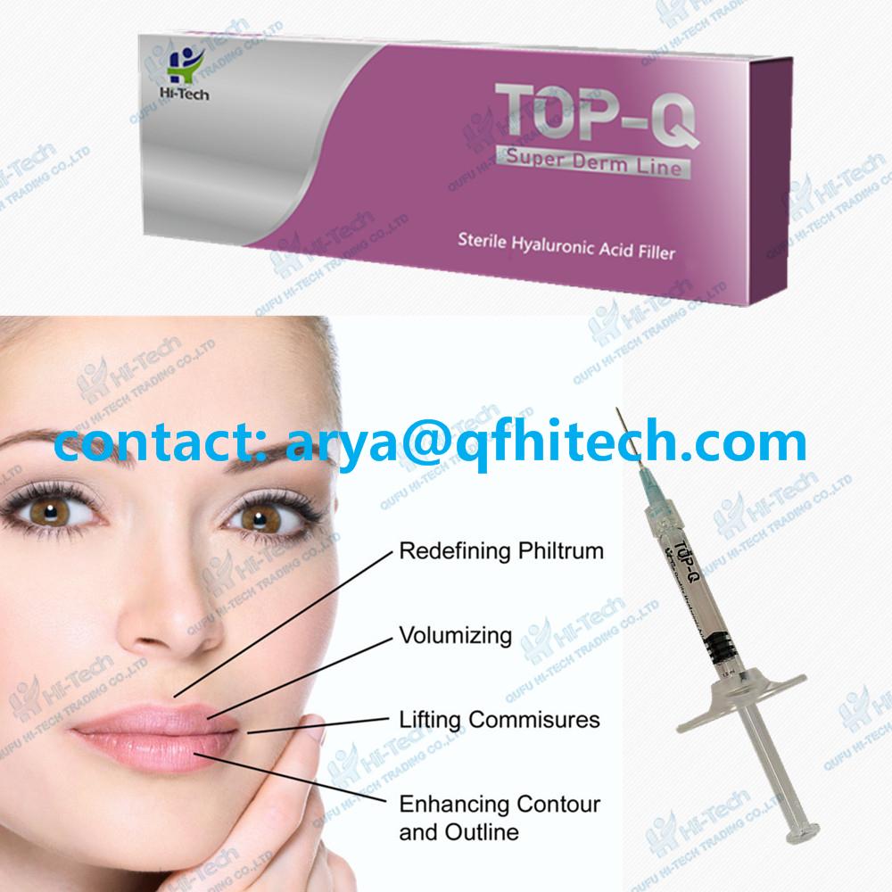 1ml Top-Q hyaluronic acid dermal filler-Derm Line for lip filling