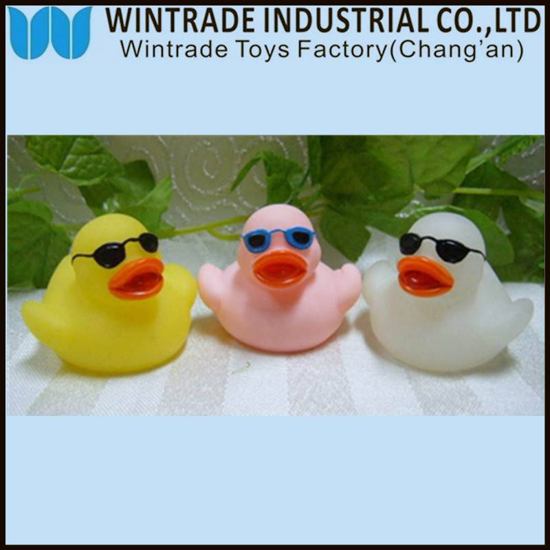 rubber bath duck baby toy for kids