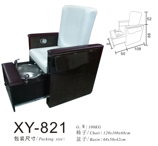 salon spa Pedicure Chair Foot Massage XY-821