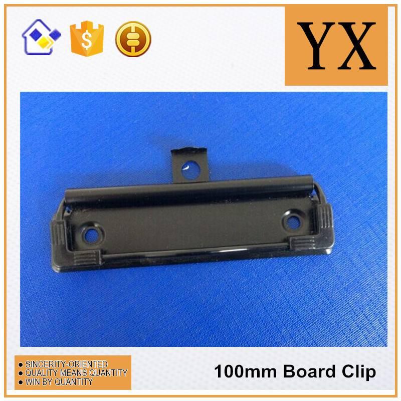 100mm Black Color Metal Clipboard Clips