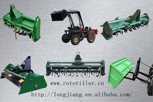 """""""LONGJIANG""""Hot sale CE approved chain&gear drive """"rotary tiller"""""""