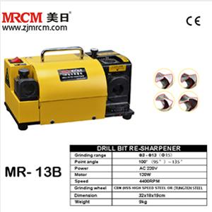 MR-13B 3-13mm Portable drill bit grinder drill bit sharpener machine