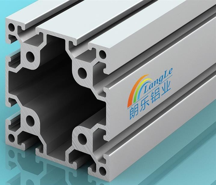 Frame Structure Le-8-8080h Industrial Aluminium Profile