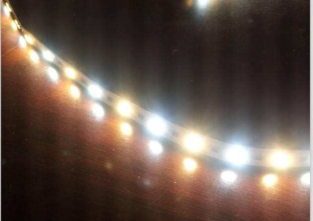 55lm/led 5630 led flexible strip, 5m/roll 24v strip light