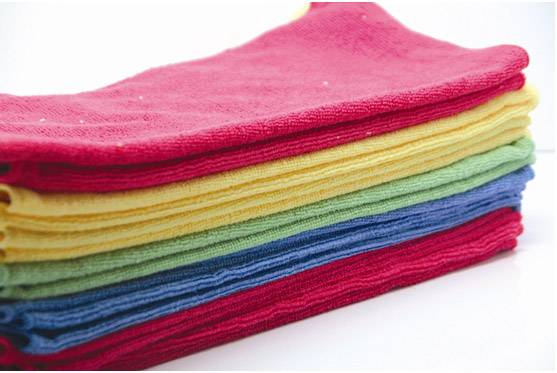 Multi-colors fast-drying microfiber bath towel