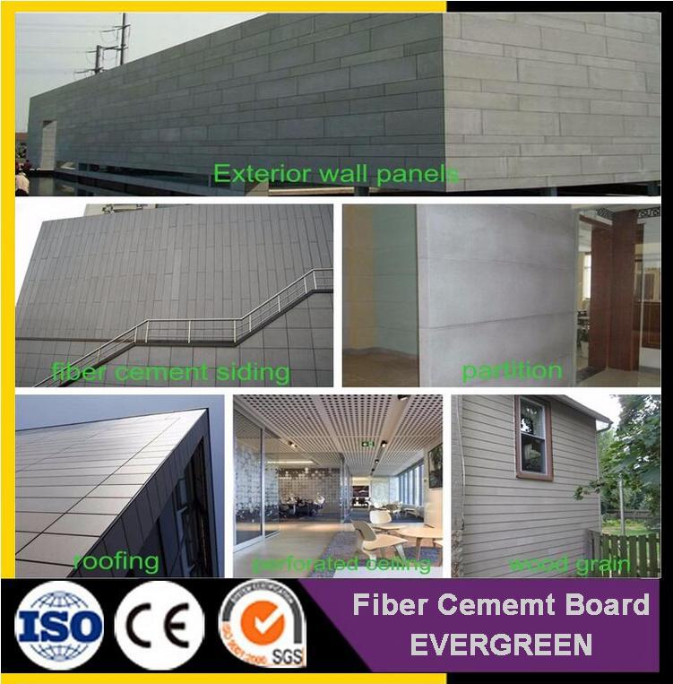 Construction Material Fiber Cement Boards