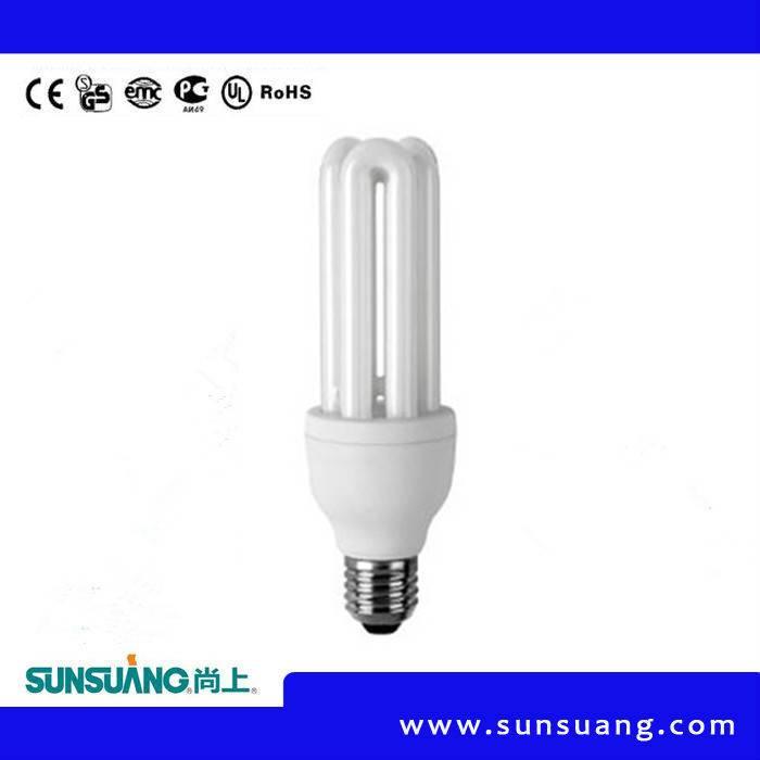 Sunsuang Energy saving lamp 3U 18W E27/E14 6400K/2700K