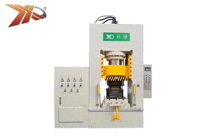 Hydraulic fine blanking metal stamping press machine