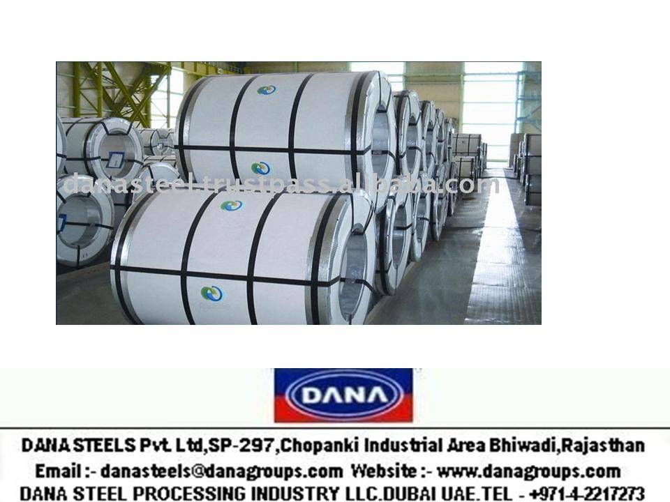 COLD ROLLED STEEL COILS FOR HOME APPLIANCES/WHITE GOODS/FREEZERS - UAE/INDIA/PAKISTAN