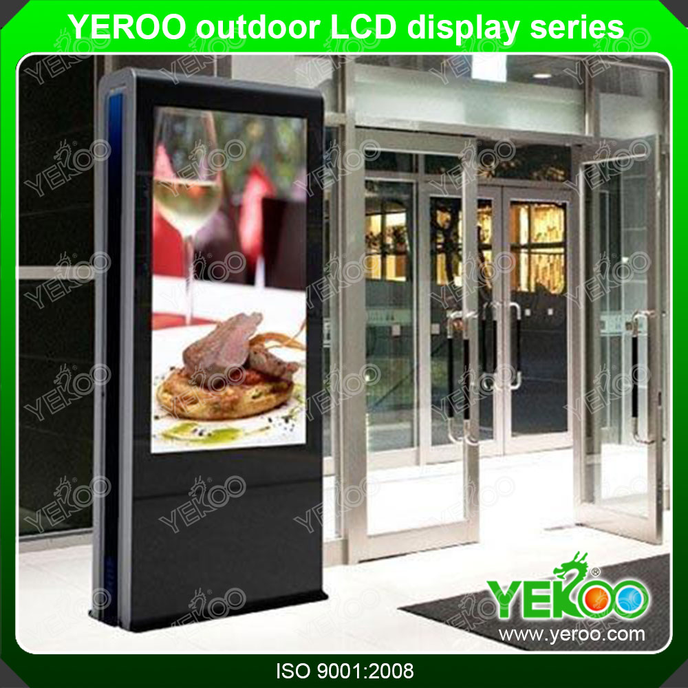 Shopping Mall Big Screen Digital Signage Player Kiosk LCD Dispaly