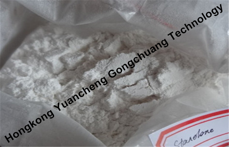 Raw 99% Stanolone /Androstanolone Powders CAS 521-18-6 from China