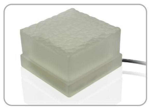 LED ice brick light