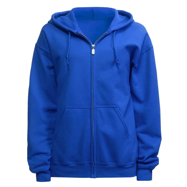 Full Zip Hooded Sweatshirt