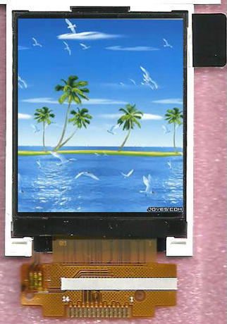 2.4 Inch 240320 Dots Color TFT LCD Module for Home Application