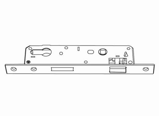 casement door handle set