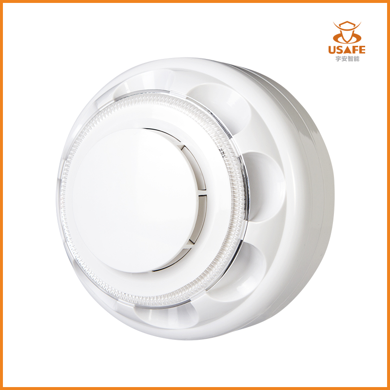 Optical Smoke and Heat Detector for Conventional Fire Alarm System YA-SH818
