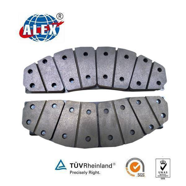 Composite Train Brake Pad for European Market