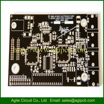 Printed Circuit Board PCB with EMS Processing, Complies with RoHS Directive