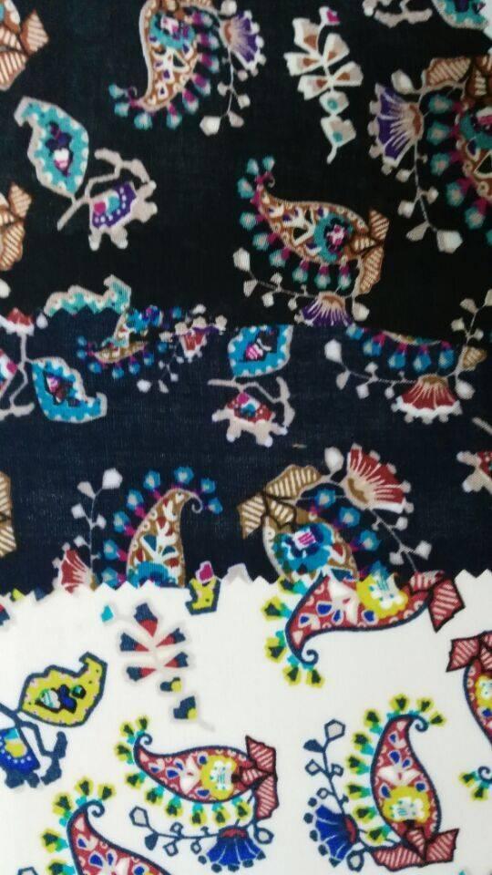 wholesale cheap print rayon fabric