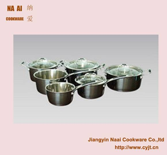 Stainless Steel Slope Cookware Pan