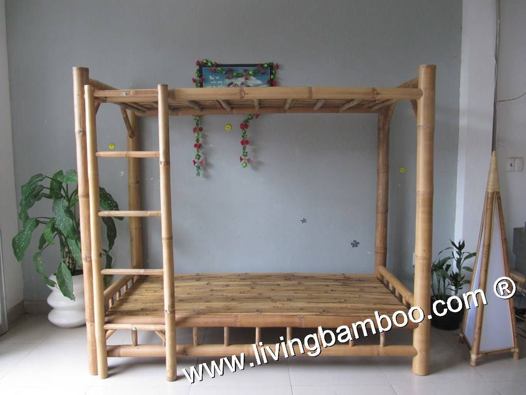 Bamboo Bed, Indoor Furniture