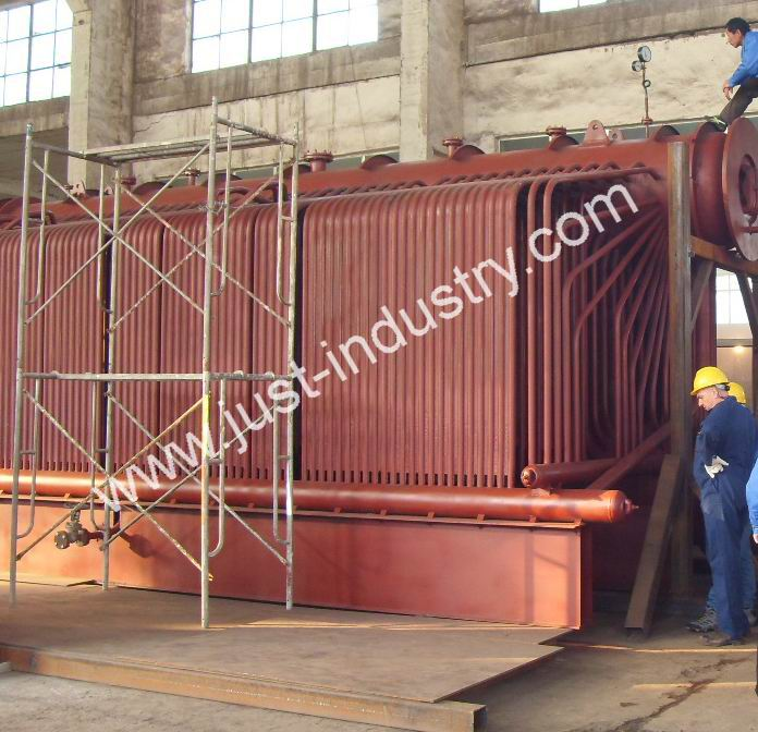 water tube steam boiler with ASME certificate